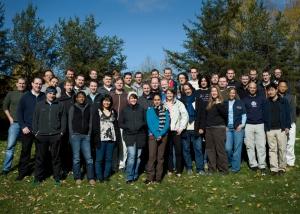 2009 company meetup in Canada