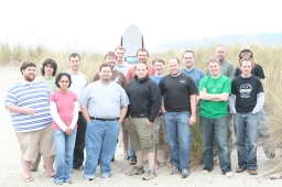 2007 company meetup in Stinson Beach